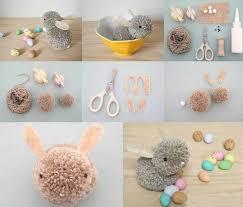 DIY Pom Easter Bunny
