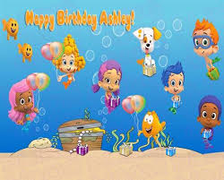 Bubble Guppies Cake Toppers by Bubble Guppies U2013 Bling Your Cake