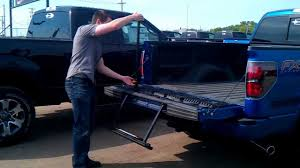 Tailgate Step Operation On A Ford F150 - YouTube