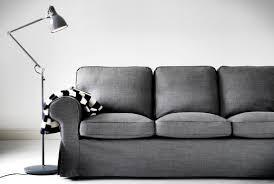 Karlstad Sofa Cover Isunda Gray by The Epic Sofa Saga Thewhitebuffalostylingco Com
