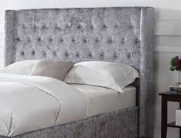 Wayfair White King Headboard by Bedroom Enchanting Bed Design Ideas With Silver Headboard