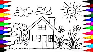 How To Draw Kids Playhouse