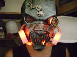Slipknot Halloween Masks For Sale by Steampunk Version Of Mick Thompson From Slipknot Mask Tubes