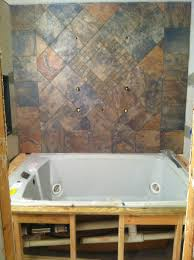 aspen sunset tile bathroom floor decoration ideas