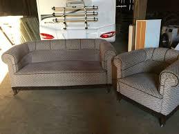 sofa mit sessel 30er 40er jahre