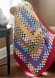 BLOCK Friday Nine Patch Quilt Patterns Fons & Porter The