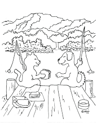 Nice Dog Cat Coloring Pages Book Design Colouring Dogs And Cats For Sheets Of Full
