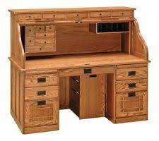 Ethan Allen Dark Pine Roll Top Desk by Roll Top Desk Ebay