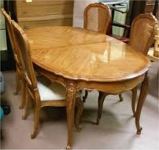 French Country Dining Room Furniture Sets Style Ethan Allen Chairs