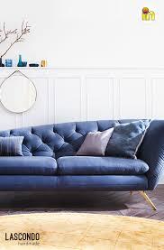 sofa 1 sitzer recamiere retro modernes wohnen