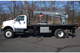 100 Bucket Trucks For Sale In Pa Used 2010 FORD F650 4X4 W VENTURO HT66KX SERVICE CRANE 55 TON