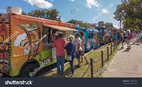 100 Food Trucks In Dc Today Washington Usa October 7 2017 Stock Photo Edit Now