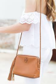 all white tan accessories tory butch summer u0026 spring