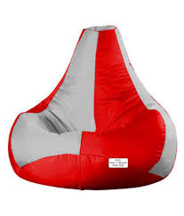 RestnSleep XXXL - Bean Bag Filled - TearDrop - Bean Bag Chair - With Beans  Filler (Light Grey/Red) Oceantamer Hooked Soul Black White Teardrop Bean Bag Chair Large Plop Beanbag Wine Red By Doob Details About Evolve Faux Suede Cover 200l Grey Restnsleep Xxxl Filled Teardrop With Beans Filler Bottle Greenmashroom What Is The Difference Between Bean Bag With Beans And Can Bags Tan Piping Chairs Canada Friday Big Joe Lux 132 In Shag Ivory Amazoncouk Dropzzz Spandex By Sg Oyster Micro Eps Filling Fur Blush