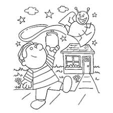 Coloring Pages Of Lightning Bug