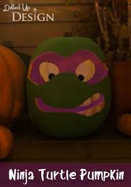 Free Ninja Turtle Pumpkin Carving Template by Pumpkin Carving Ideas