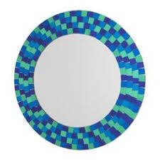 Mosaic Bathroom Mirror Diy by Diy With Instructions For This Mosaic Tiled Mirror Way Better