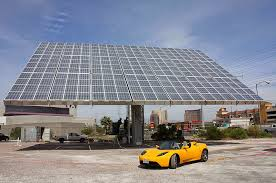what will it cost to charge a tesla with solar panels energysage