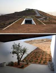 Beautiful Underground Aloni House Blends in With The Earth