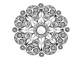 Mandala Coloring Pages Adults Printable Abstract Pictures For Free Pdf