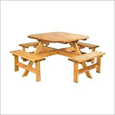 Building Plans For Hexagon Picnic Table by Exteriors Octagonal Wooden Garden Table Picnic Table