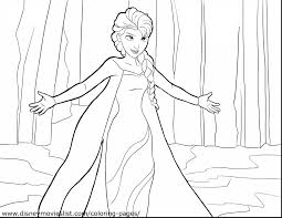 Incredible Frozen Elsa Coloring Pages With Online And Games