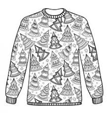 Christmas Jumper Pattern Download Adult Colouring