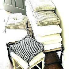 Country Chair Cushions Dining Room Sale Pads French Pertaining To Seat