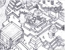 Lifetime Minecraft House Coloring Pages Halloween