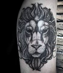 Guys Leo Lion Tattoos