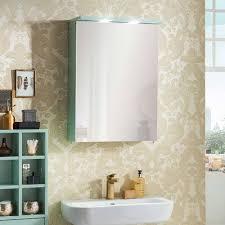 1 türiger bad spiegelschrank in mint grün aparcian