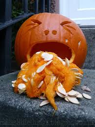 Puking Pumpkin Pattern by Cheap Halloween Decorations