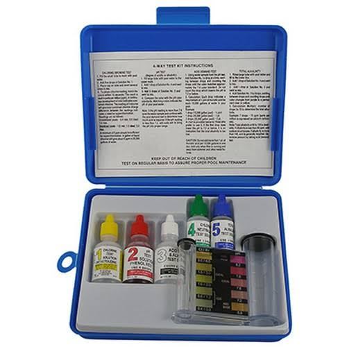 Jed Pool Tools 00-486 Pool Test Kit