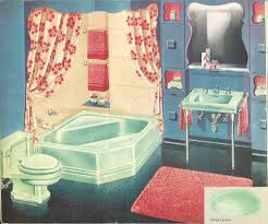 50s Retro Bathroom Decor by The Color Green In Kitchen And Bathroom Sinks Tubs And Toilets