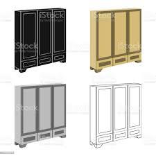 schlafzimmer schrank für kleidung schlafzimmermöbel für kleidung schlafzimmer möbel einzelnes symbol im stil vektor symbol lager abbildung web