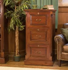 Three Drawer Filing Cabinet Wood by La Roque Mahogany Three Drawer Filing Cabinet Imr07b