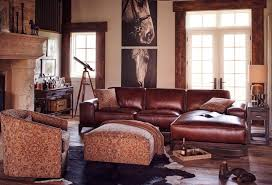 Brown Leather Sofa Decorating Living Room Ideas by Decorating Around Leather Furniture Value City Furniture