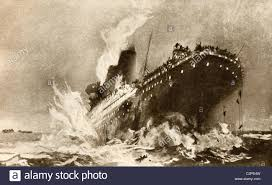 Rms Lusitania Model Sinking by Sinking Stock Photos U0026 Sinking Stock Images Alamy