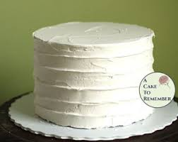 6 Round Fake Cake With Ridged Icing For Photo Shoots And Home Staging Faux
