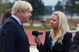 A Reporter Interviewing Boris Johnson When He Was Mayor Of London 2014