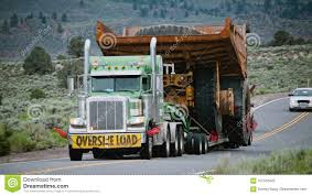 100 Dump Truck Song Oversize Load On The Move Stock Photo Image Of Dump 107333422