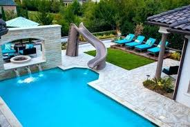 Swimming Pool Slide Ideas Luxury Pools With Slides For Home