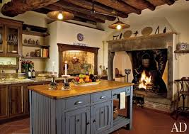 Kitchen Rustic Kitchen Spectrum Interior Design La Convertoie