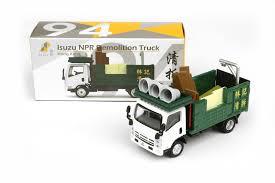 Jual Tiny Diecast 94 Isuzu NPR Demolition Truck Hongkong - Vovo Toys ...