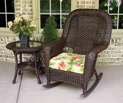 Sea Pines All Weather Wicker Rocking Chair & Table Bundle - Tortuga Outdoor Antique Childrens Wicker Rocking Chair Wicker Rocker Outdoor Budapesightseeingorg Rocking Chair Dark Brown At Home Paula Deen Dogwood With Lumbar Pillow Victorian Larkin Company Lloyd Flanders Chairs Pair Easy Care Resin 3 Piece Patio Set Rattan Coffee Table 2 In Seat Cushion And Alinum Glider Lawn Garden Porch Livingroom Fniture Franco Albini Style Midcentury Modern Accent Occasional Dering Hall