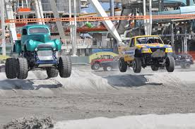 The Wildwoods Host Monster Truck Beach Races - Forked River Gazette What I Learned As A Judge For The Monster Jam Triple Threat Series Its Great For The Entire Family Monsterjam Truck Tickets Sthub An Iron Man Among Monster Trucks Njcom Dennis Anderson Home Facebook Car Show Events Rallies Wildwood Nj Amy Freeze Previews At Meadowlands Abc7nycom Review Chasing Supermom 27 Best Images On Pinterest Jam Stlouis Sucked Pics Svtperformancecom