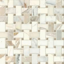 bedrosians hillcrest basket weave mosaic tile pack of 10