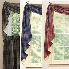 Primitive Curtains For Living Room by Living Room Awesome Dining Room Curtains Images Swag Curtains
