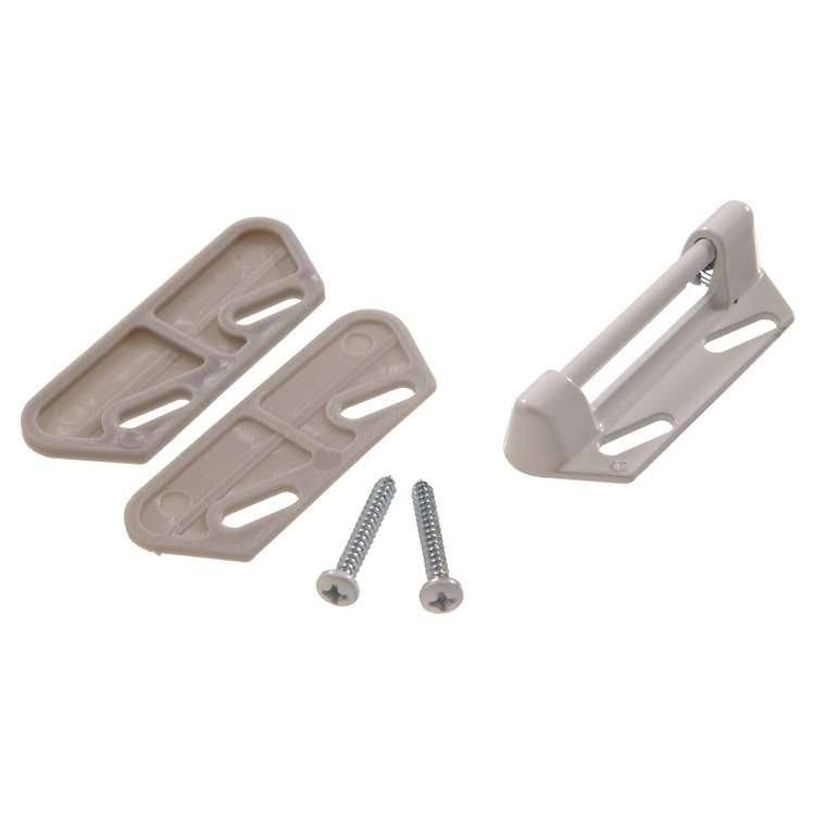 The Hillman Group 853154 Replacement Strikes - with 2 Shims, White