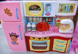little junior baby kids store dora the explorer kitchen set